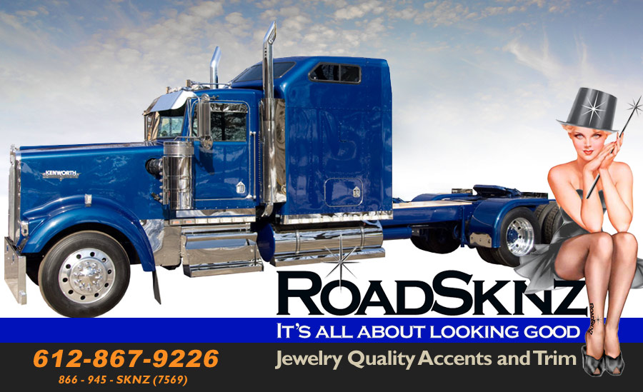 Roadsknz Stainless Truck Accessories Tank Sknz|Step Plates